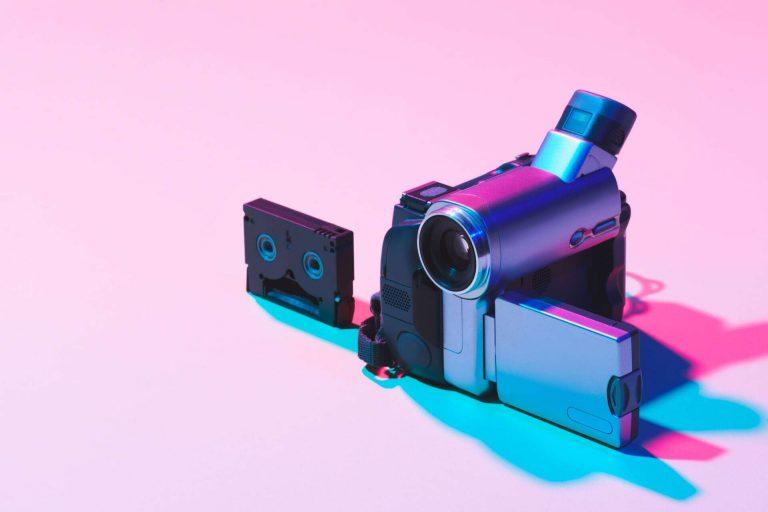 tworzenie treści, social media, wideo, kamera