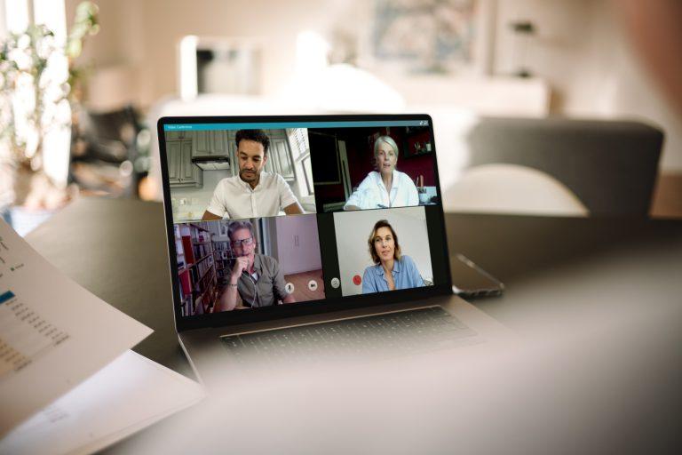 szkolenie online videorozmowa w pracy
